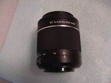 LikeNew Sony alpha 55-200mm DT f/4-5.6 SAM Lens for Digital SLR Camera