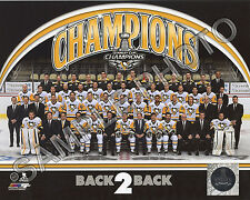 Pittsburgh Penguins 2017 Stanley Cup Champions Formal 8x10 Sitdown Team Photo