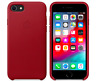 Apple iPhone 8 / 7 / SE 2020 Echt Original Leder Hülle Leather Case Rot Red NEU