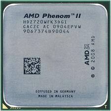 AMD CPU Phenom II X3-720  2.8GHz Socket AM3  Black Edition HDZ720WFK3DGI
