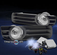 2005 2006 2007 CHRYSLER 300 BUMPER DRIVING FOG LIGHT CHROME W/8K HID KIT+HARNESS