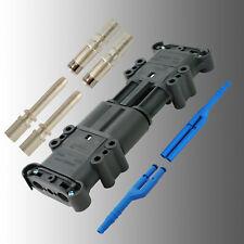 Satz Batteriestecker (Stecker+Doser) Rema Euro DIN 320A 50mm² + Luftadapter EUW