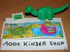 KINDER - K96 N°15 DINOSAURE DINO + BPZ + STICKERS