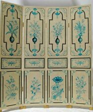 oriental furniture beige lacquer screen room dividers