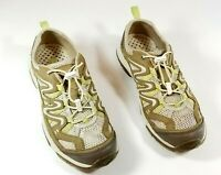 Bass Sebring Shoes Womens Size 8M Mesh Green Leather Shoes Athletic Casual