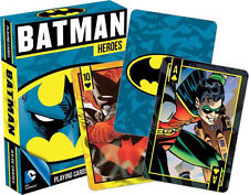 BATMAN HEROES - PLAYING CARD DECK - 52 CARDS NEW - ROBIN DC COMICS 52266