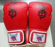 MANNY PACQUIAO Bradley 2 1 PAIR Red GLOVES ORIGINAL  limited edition