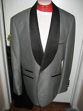 Ferrecci Mens 40S GRAY ONE Button JACKET