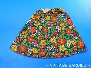 RARE Barbie Doll Gaucho Gear #3436 Skirt MINTY ~ Vintage 1970's
