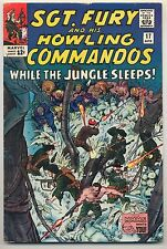 Sgt. Fury & His Howling Commandos #17 (1965) Fine Minus (5.5) ~ Marvel