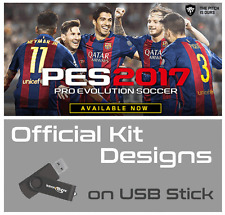 Pes 2017 Opción File Ultimate-Pro Evolution Soccer 2017 kits para PS4 - 2GB USB