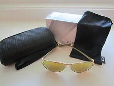 New Oakley Feedback Sunglasses Polished Gold 24K Iridium OO4079-28