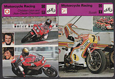 42 Diff. 1977-79 MOTORCYCLE RACING Sportscaster Cards British Edition Near Set