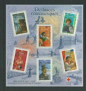 France 2003 Red Cross Souvenir Sheet MNH