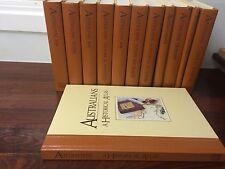 THE AUSTRALIANS A BICENTENNIAL HISTORICAL LIBRARY WELDON SET 12 History FINE