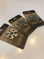 HexFlex Unibody Mult-Tool Stainless Steel Standard 15 Tools In One Lot Of 3