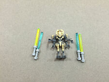 LEGO Star Wars General Grievous Clone Wars minifigure w/ 4 Lightsabers minifig