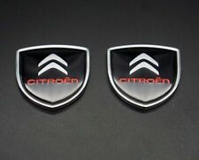 Car Side Fender Emblems Auto Rear Stickers Decals Badge Styling Logo For Citroen