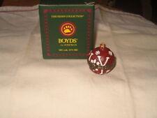 Boyds Bears Treasure Box Joy's Christomas Ornament 1st Edition New!