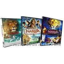 Chronicles Of Narnia: Complete Film Series Movies 1 2 3 Box / DVD Set(s) NEW!