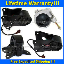 0028 Motor & Trans Mount 4pc Set for 2000-2001 Infiniti I30 3.0L AUTO w/ Sensor