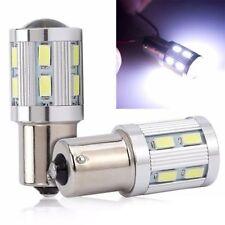6000K 1156 P21W BA15S 12SMD White Globe LED Brake Reverse Stop Tail Lights Bulb