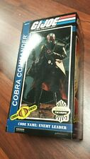 1/6 Sideshow Collectibles Cobra Commander Gi Joe Empty Box Only No Figure JC