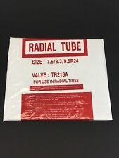 9.5R24 Heavy Duty Tractor Tire Inner Tube 9.5-24 TR218 VALVE FOR LIQUID