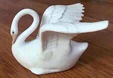 Duncan Royale porcelain Swan figurine