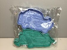 DISNEY CAKES AND SWEETS CUTTERS LIGHTNING MCQUEEN AND FINN MCMISSILES EAGLEMOSS