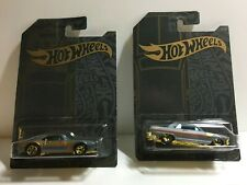 2019 Hot Wheels 2 ea Stain & Chrome 3/6 67 Pontiac Firebird & 5/6 63 Chevy
