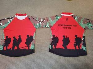 Red Army First World War Remembrance MTP type Camo Rugby shirt, Army v Navy