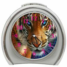 Angry Tiger Alarm Clock Night Light Travel Table Desk
