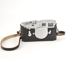 Vintage 1962 Leica M2 rangefinder film camera body with original manual