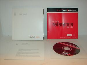 User manual, Verizon quick reference guide for Treo 600