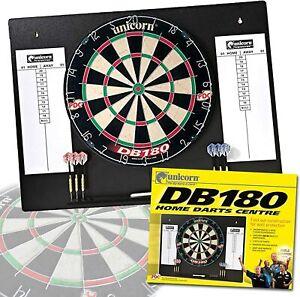 Unicorn Home Darts Centre Dartboard, Scoreboards, Backboard, Darts, Boxed Set