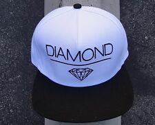 New Diamond Supply Co Skateboard DIA Space White Mens Snapback Hat One size Fit