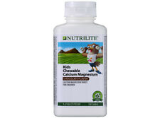 Amway Nutrilite Kids Calcium Magnesium Cocoa 1 x100 Tablets.