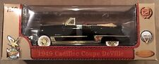 "1949 Cadillac Coupe Deville Convertible Black 1/18"" Die-Cast by Road Legends"