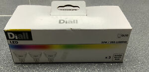 Diall Led 3x Warm White Gu10