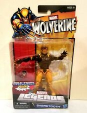 HASBRO MARVEL LEGENDS PUCK B.A.F SERIES SABRETOOTH(VICTOR CREED) W/PUCKS HEAD