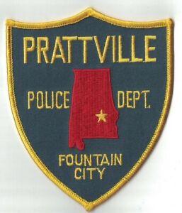 Prattville Police Dept. Fountain City Patch Alabama AL