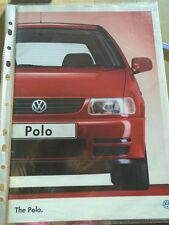 VW Polo range brochure Jul 1995