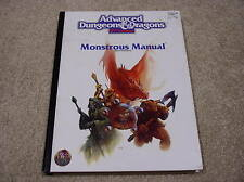 AD&D 2nd edition Monstrous Manual hardcover - white cover