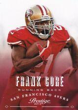 Frank Gore 2013 Panini Prestige Football Trading Card, #172