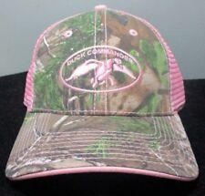New DUCK COMMANDER Women s CAMO and PINK MESH HAT ~ Adjustable f1714d768174