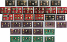 New Listing1968 1998 Proof set run - 31 Box lot Us Mint - (Ogp) 165 Coins