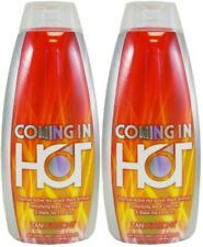 (LOT 2) Tanovations Ed Hardy COMING IN HOT Tingle Tanning Bed Lotion - 10 Oz (ea