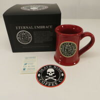 Death Wish Coffee Eternal Embrace Coffee Mug Cup Deneen Pottery #2371 of 4000