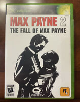 Max Payne 2 Brand New Sealed (Outer Wrapper Missing) (Xbox, 2003) Free Shipping!